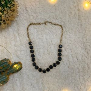 Banana Republic Grey Stone Necklace